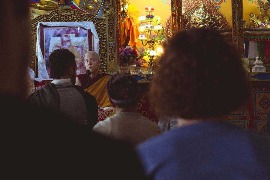 Teacher, Kopan monastery, Nepal