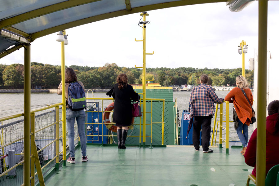 Ferry to Nida
