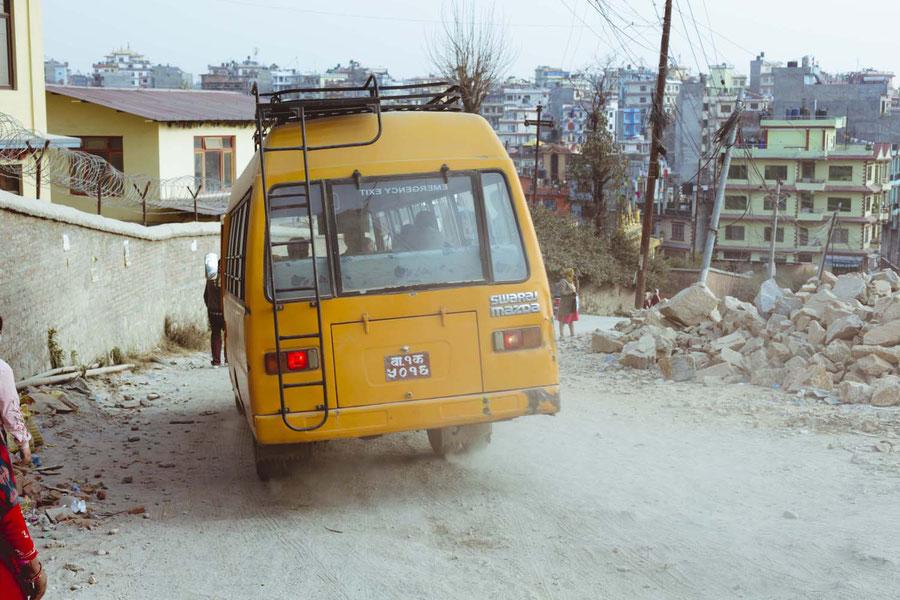 Gegenverkehr, Kopan Monastery, Nepal