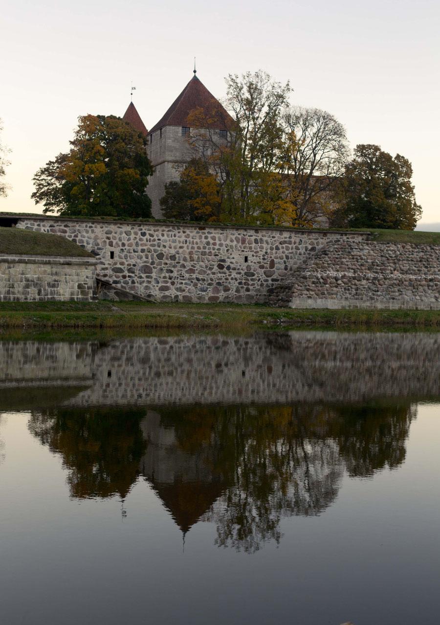 Arensburg, Kuressaare, Saaremaa, Estonia, Reflection.