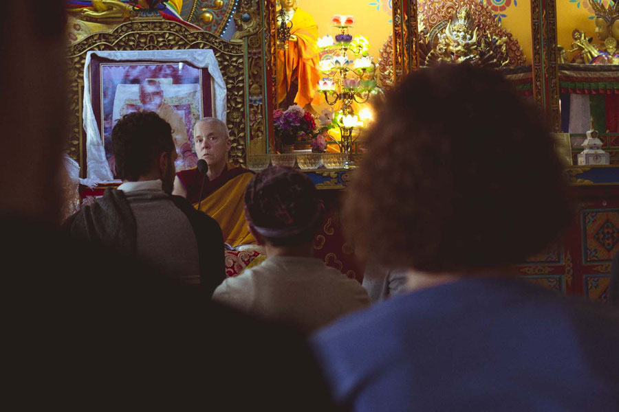 Teachings in action, Kopan Monastery, Nepal