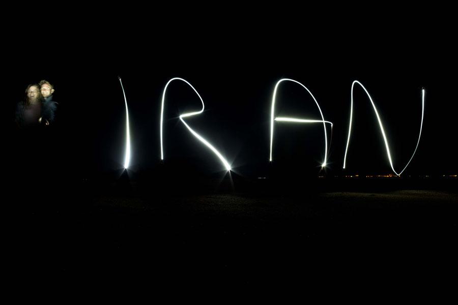 Spielen mit der Kamera, Qeshm, Iran