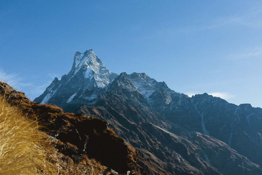 Fishtail mountain, Mardi Himal Trek, Nepal