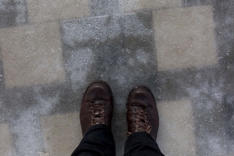 Auf Eis laufen, Samara, Russland