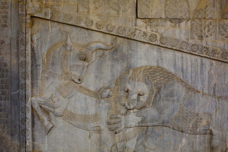 Die Ruinen von Parsagard. Iran