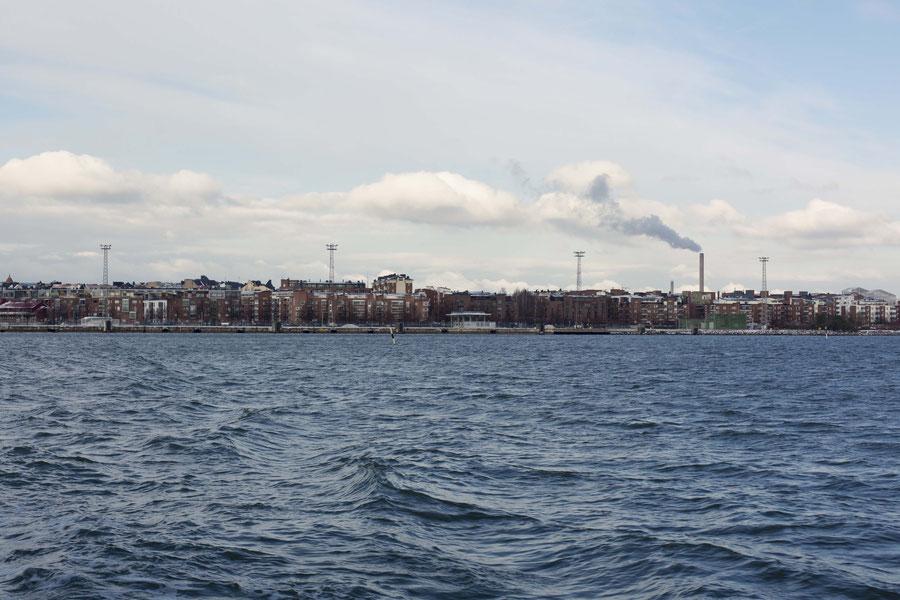 Helsinki harbor, Helsinki, Finland