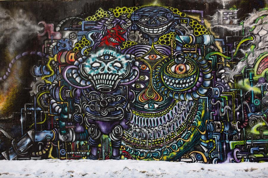 Graffiti in Tampere, Finnland