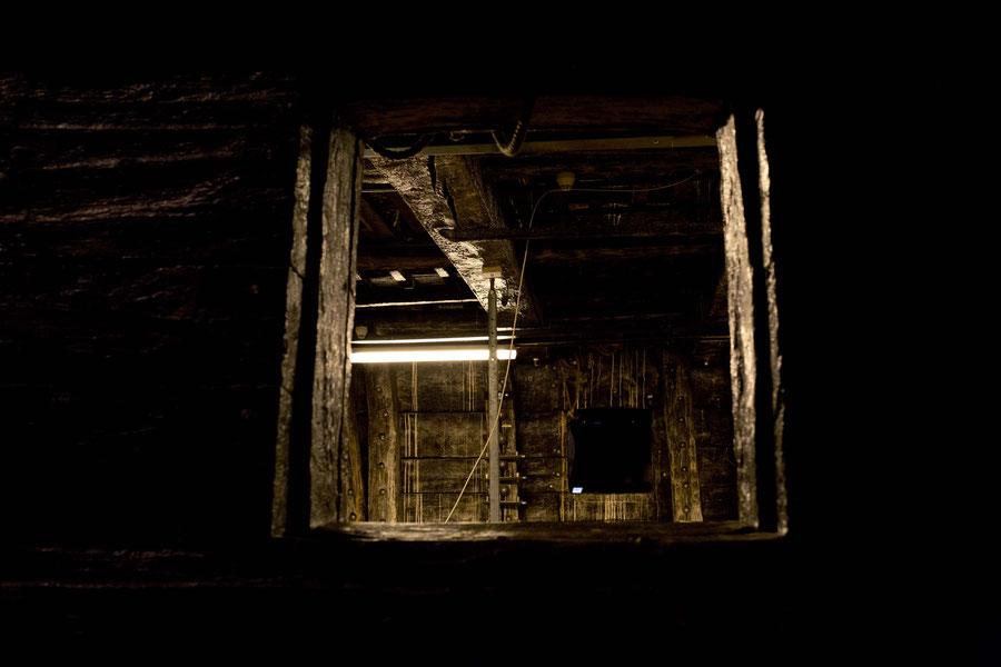 Der Innenraum der Vasa, Vasamuseum, Schweden