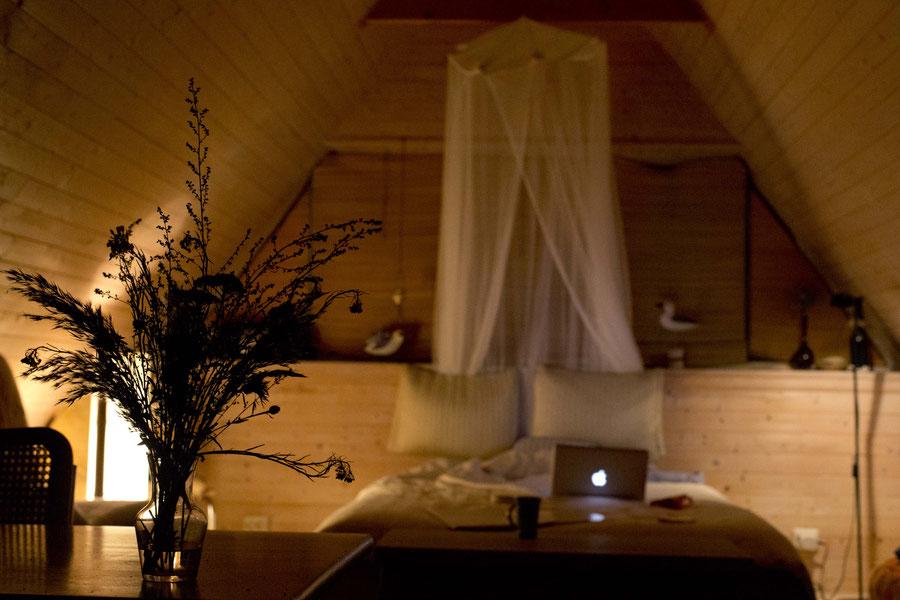 Romantic attic, Nasva, Saaremaa, Estonia
