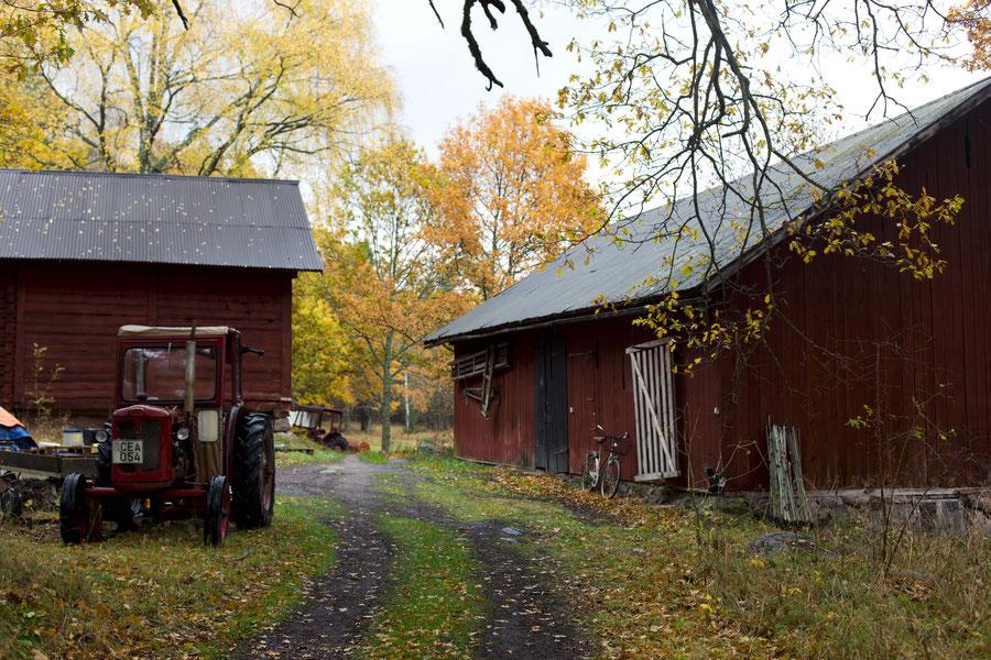 Old farm house on Svarstö, Sweden