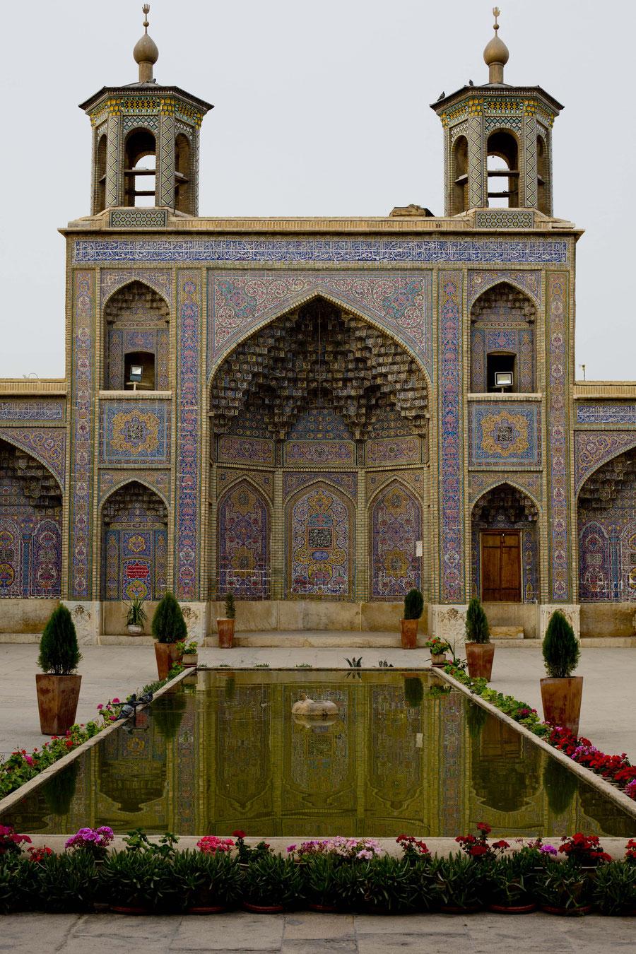 Pinke Moschee, Shiraz, Iran