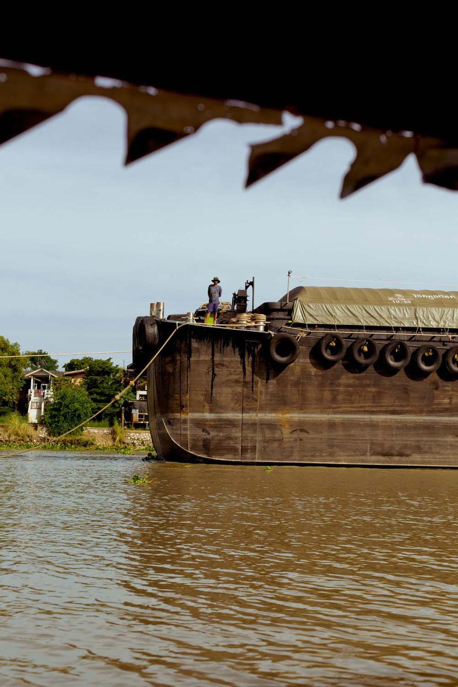 Tanker, Ayutthaya, Thailand