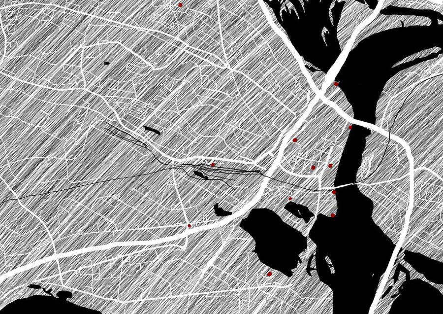 Stadtplan von Rovaniemi