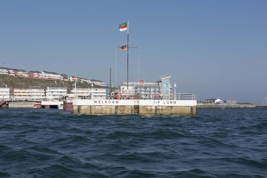 Welcome on the island! Harbor, Helgoland