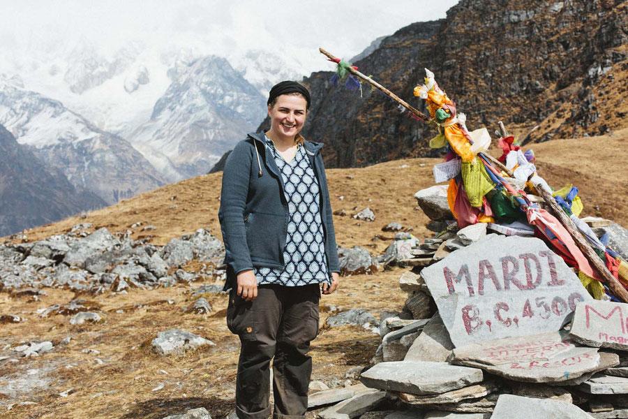 Ganz oben, Mardi Himal Trek, Nepal