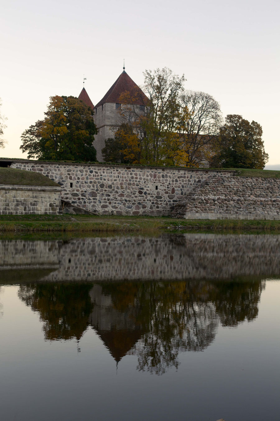 Arensburg, Kuressare, Saaremaa, Estonia, Reflektion.