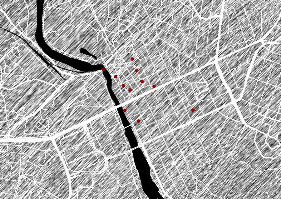 Citymap, Porvoo, Finnland