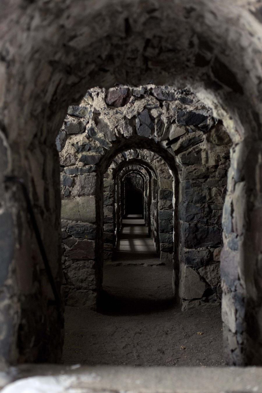 Mittelalterliche Festigungsanlage, Suomenlinnea, Helsinki, Finnland