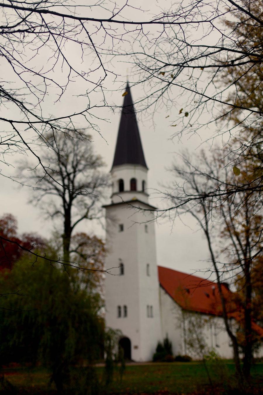 Kirche in Sigulda, Lettland