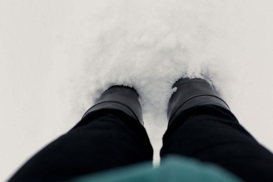 20 centimeters of snow in November, Vantaa, Finland