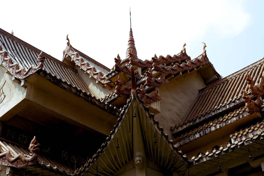 Temple roof,  Kunming, China