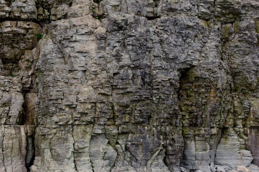 The cliffs of Panga, Saaremaa, Estonia