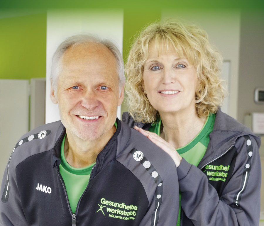 Josef und Jutta Zimmermann begrüßen Sie in der Gesundheitswerkstatt Mülheim-Kärlich!