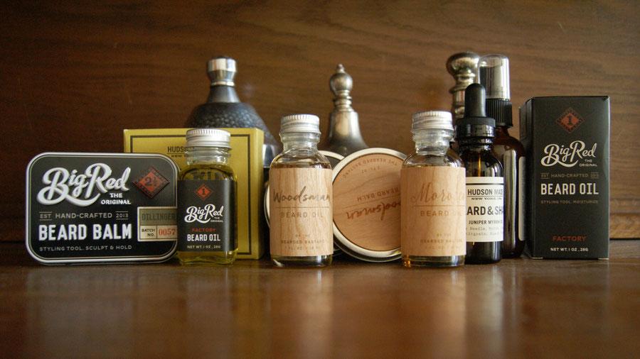 Produkte für die Bartpflege und Nassrasur