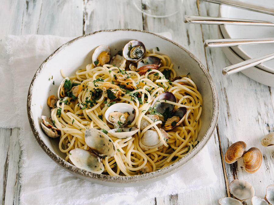 Spaghetti Vongole nach Mama Fanni