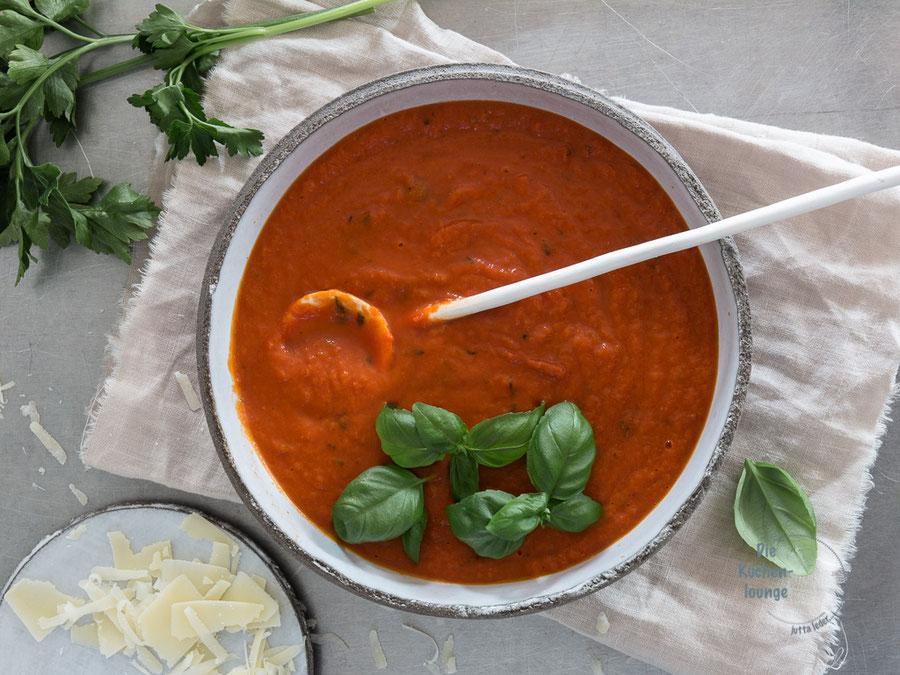 Tomatensauce - Grundrezept vieler Pastagerichte