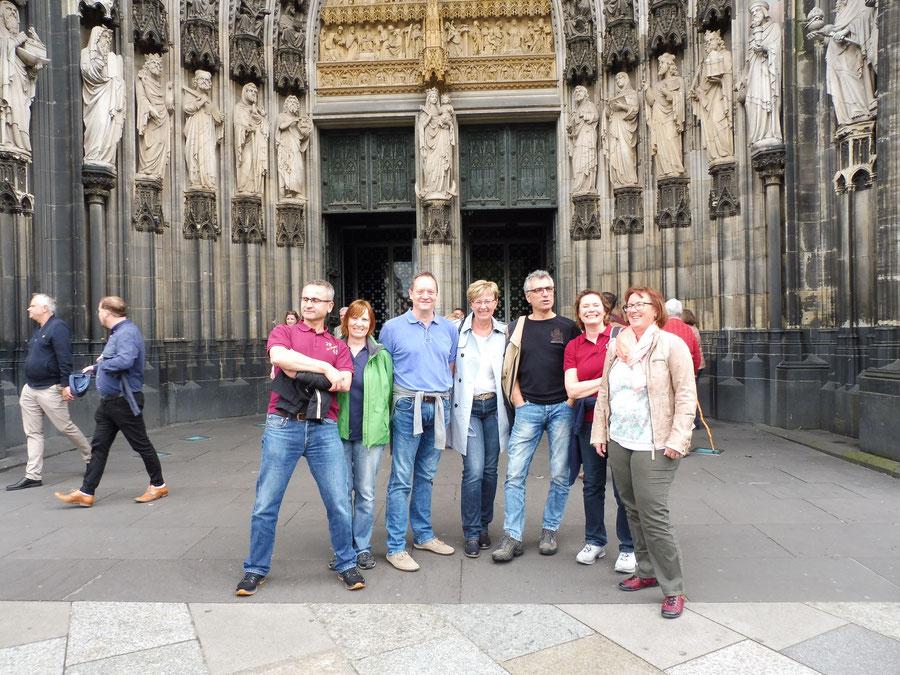 Ausflug nach Köln Mai 2017