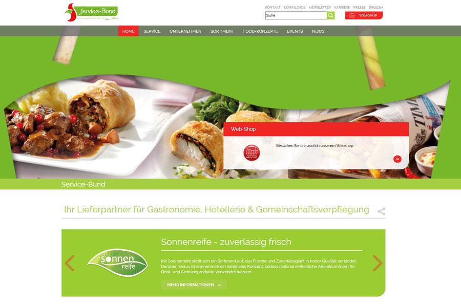 Service Bund Webseite