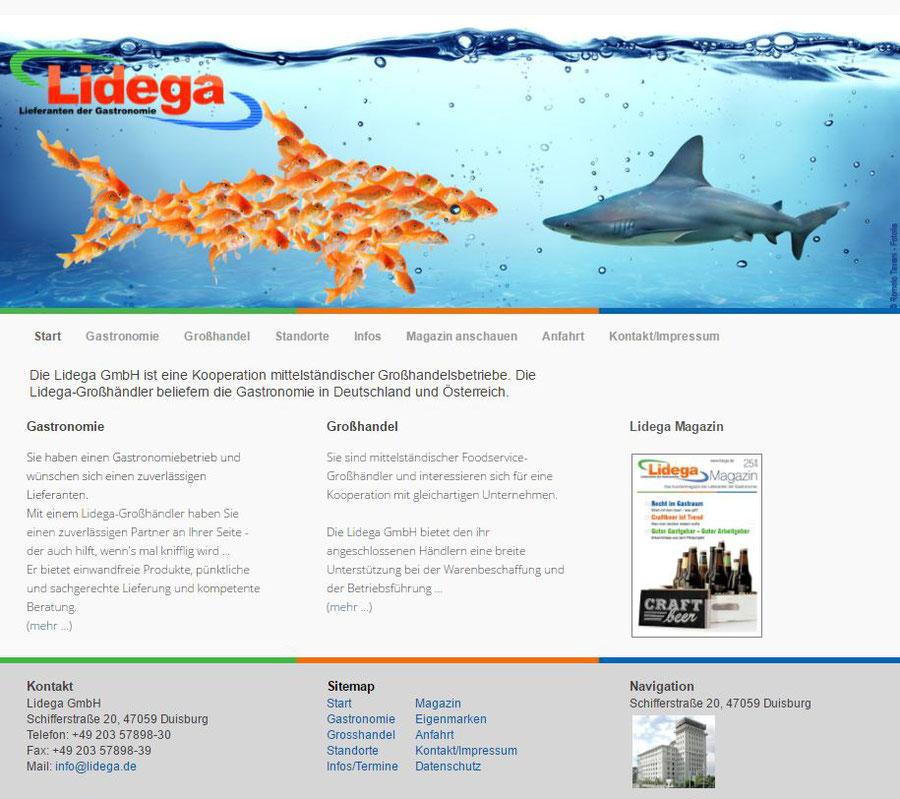 Progros Webseite