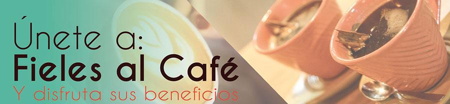 suscríbete a nuestro programa de fieles al café. gana puntos, acumula  puntos por tus compras.