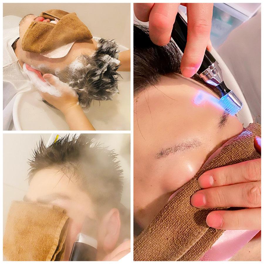 群馬ので人気のメンズ専門美容室Men's Salon