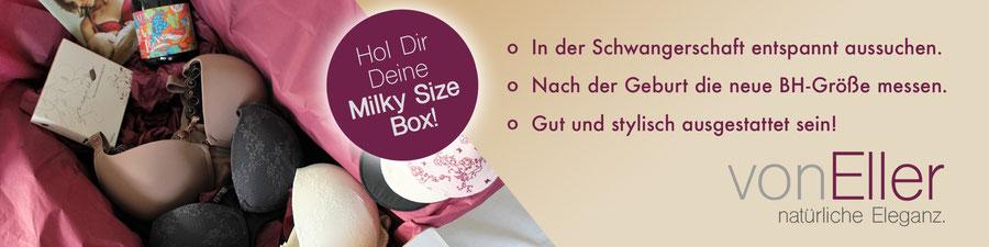 vonEller Milky Size Box Stillwäsche