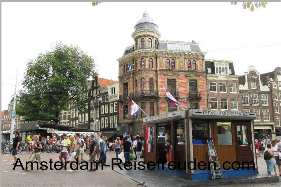 Fine architecture of Old Amsterdam