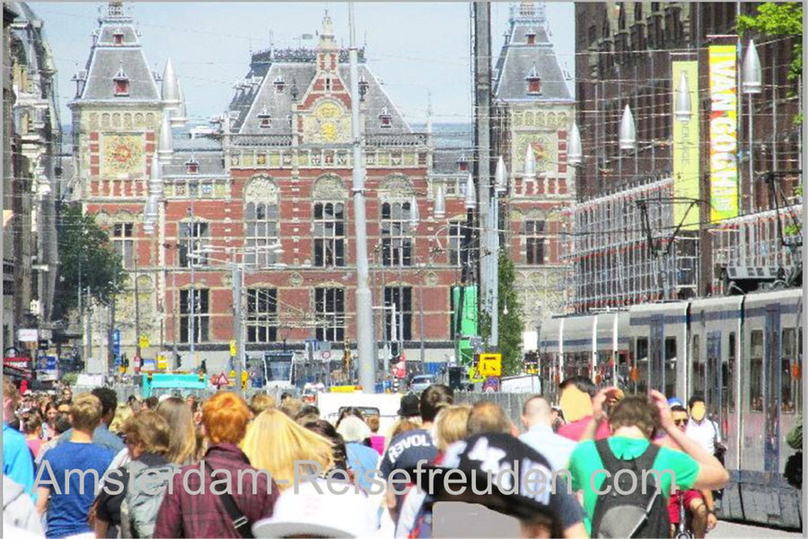 The Royal Palace of Amsterdam at the DAM place