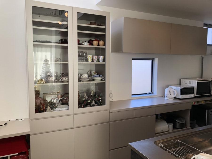 食器棚 カップボード キッチン収納