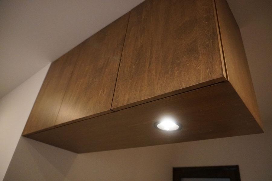 家具に照明 オーダー家具 収納家具