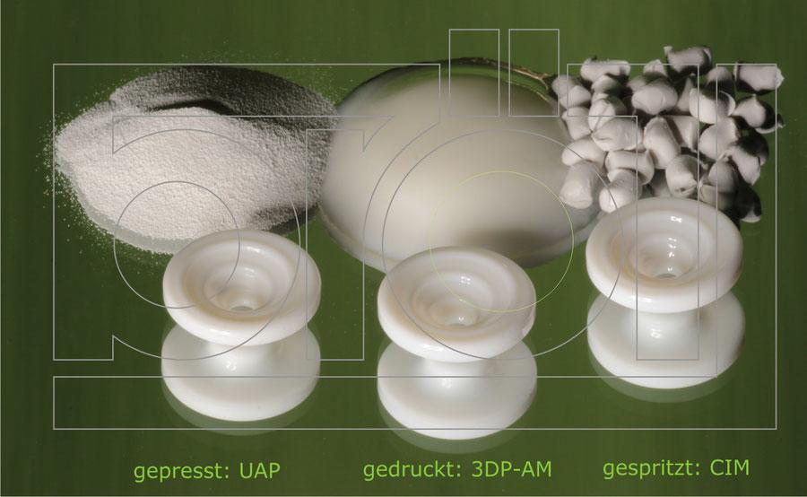 Feedstocks für die Keramikfertigung