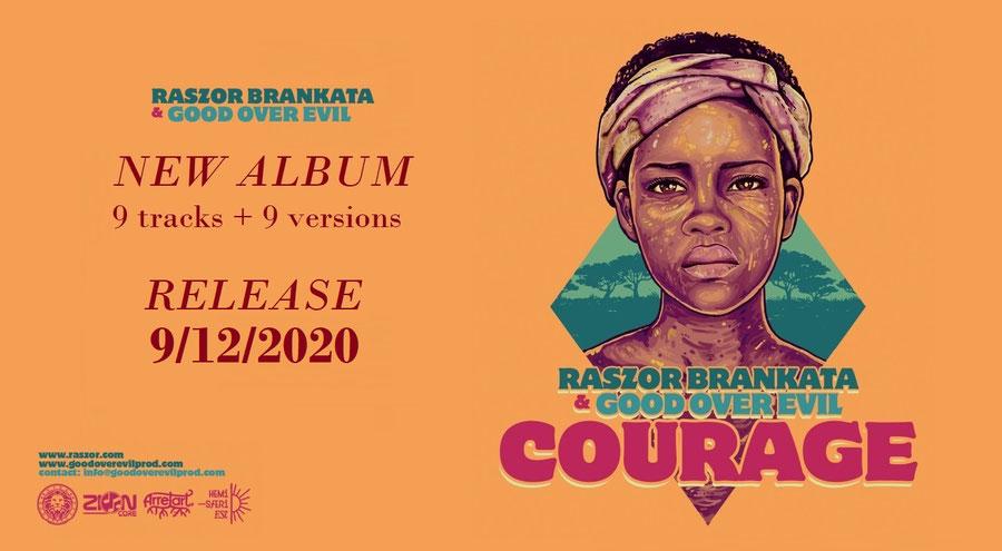 reggae album courage raszor brankata