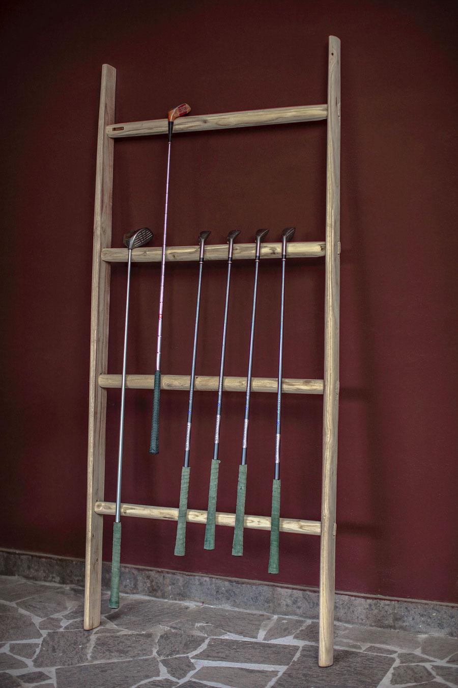 Scala a pioli in legno di ellecuorea per arredamento e decorazione - Grand ladder by ellecuorea for interior and creative decor