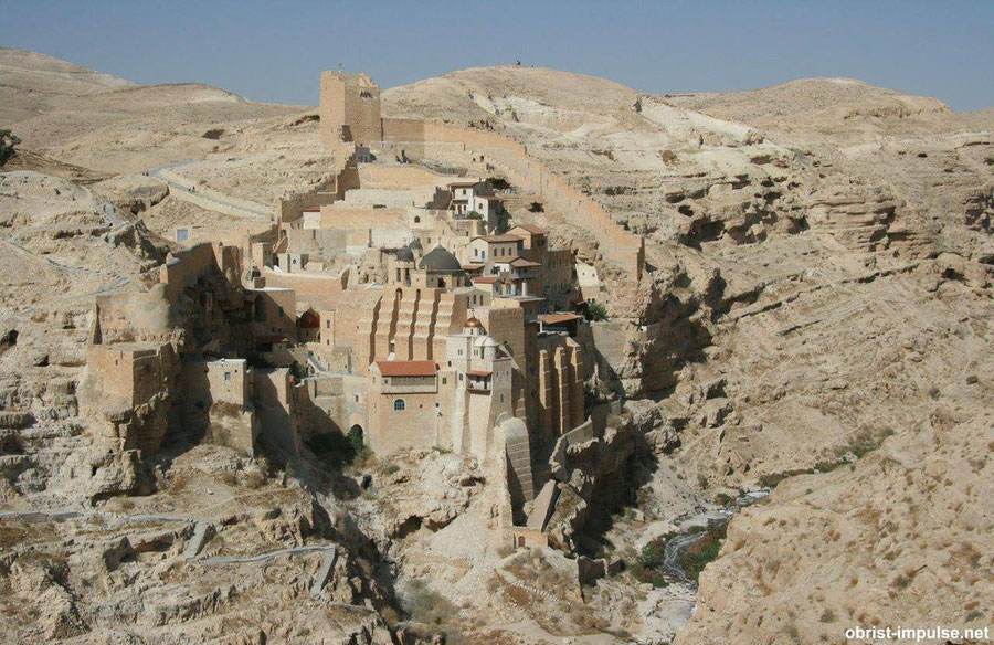Mar Saba Kloster in the Desert of Juda/Israel
