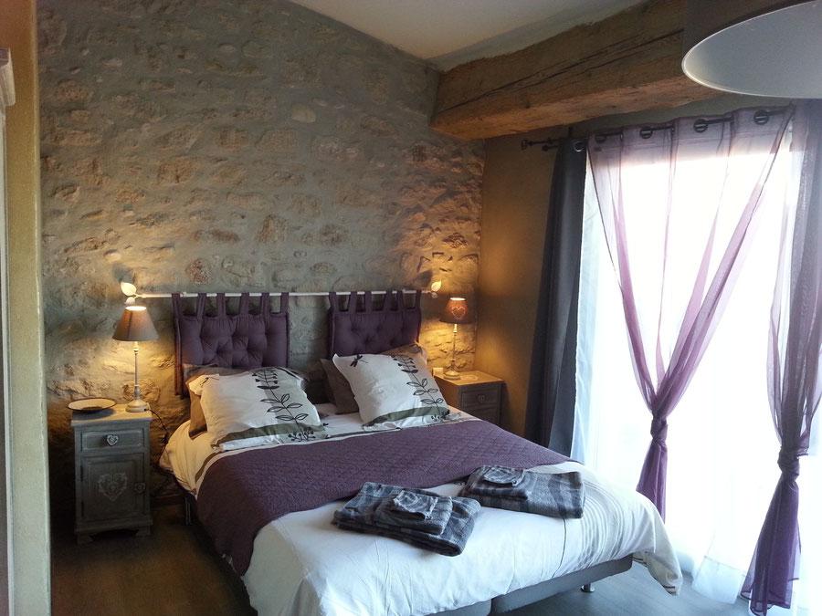 Chambre Amandier-Maison hote-Au pied du figuier-Limoux-B&B