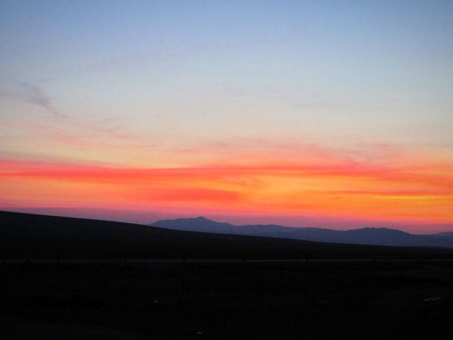 bigousteppes mongolie steppes ciel soleil