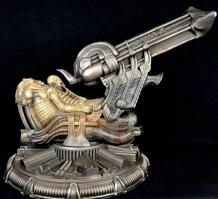 Space Jockey Maquette Alien H.R. Giger Statue 58cm Sideshow