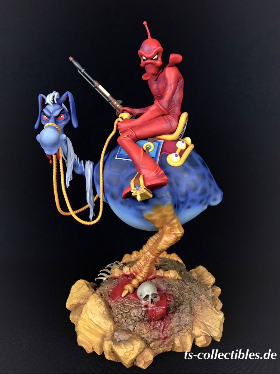 William Stout's Red Rider 33cm Wizards 1977 Necron 99 Anime Statue Sideshow SS200569