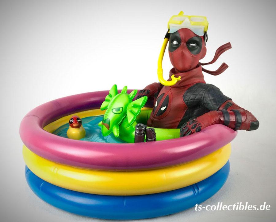 Kidpool 1/4 Premium Format Deadpool Marvel Comics Statue 18cm Sideshow Collectibles SS300738