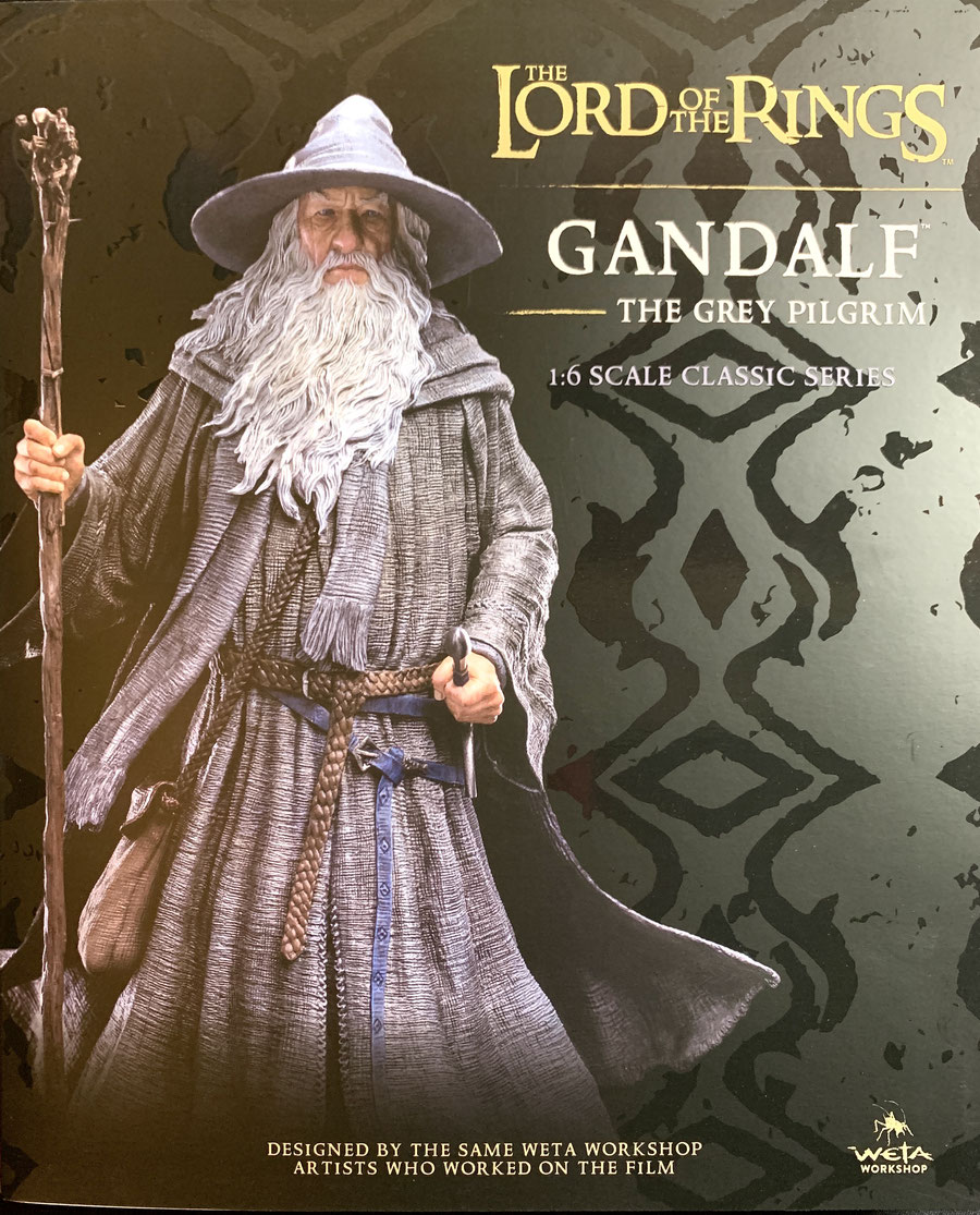 Gandalf der Graue 1/6 Der Herr der Ringe Resin Statue (Classic Series) LOTR 36cm Weta